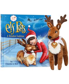 CLOSEOUT! Elf on the Shelf Plush Reindeer and Storybook Set. Sold out :(