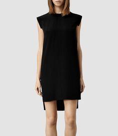 Womens Tonya Lew Dress (Black) - product_image_alt_text_1