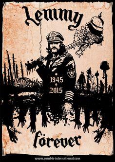 Forever Lemmy. #Motorhead