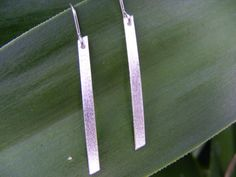 Hand-made Sterling Silver Earrings Simple by ButteryJewellery Simple Earrings, Sterling Silver Earrings, Arrow Necklace, Jewellery, Elegant, Unique Jewelry, Handmade Gifts, Etsy, Vintage