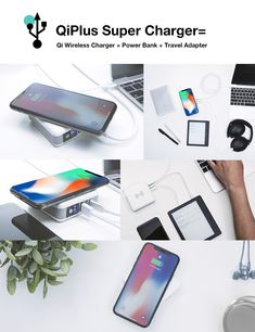 Multitask: Charge up to 4 Devices at the same time while juicing itself