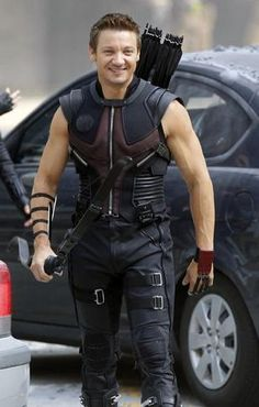 Hawkeye. So many reasons we love him!