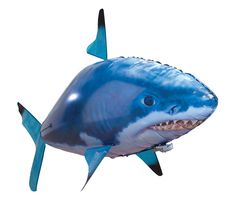 Air Swimmers RC Remote Control Flying Shark Toy Kids Inflatable Helium Float for sale online Air Swimmers, Inflatable Shark, Great White Shark, Radio Control, Toy Store, Sport, Best Friend Gifts, Gifts For Kids, Deporte