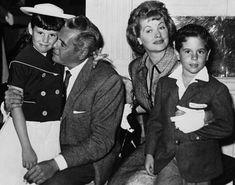Lucie Arnaz, Desi Arnaz, Lucille Ball, and Desi Arnaz Jr