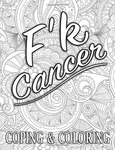 An Original by Sandra Walker 2016 Ribbon for Cancer color it Any