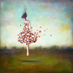 Duy Huynh, Boundlessness In Bloom / até nos vestidos Ana são flores.