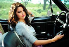 Wallpaper Selena Gomez, actress, singer, brunette, car desktop wallpaper » Female Celebrities » GoodWP.com