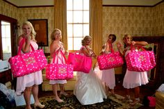 Wedding days call for Large Utility Totes from Thirty-One!