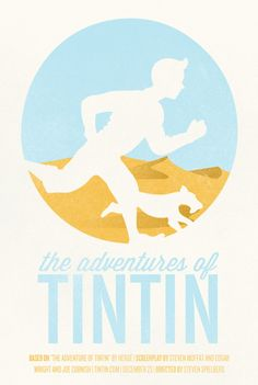 One of a series of concept posters for The Adventures of Tintin movie by Kristian Hay