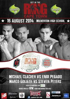 Win tickets to Get in the Ring - Cape Town