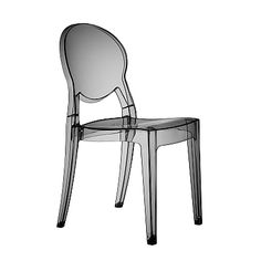 Modern translucent stacking chair Ego by Scab Design