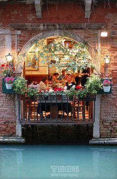 Wonderful restaurant in #Venice