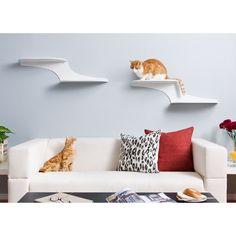Refined Feline Cat Cloud Cat Shelf - White - CLOUD-WH-R