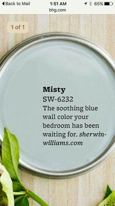 Home Improvement Ideas Bathroom Paint Colors 26 Ideas For 2019 Bedroom Paint Colors, Interior Paint Colors, Paint Colors For Home, Paint Colours, Blue Wall Colors, House Colors, Diy Interior, Interior Plants, Cafe Interior
