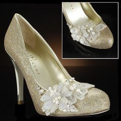 Ivanka Trump Bridal Shoes...I LOVE THESE and they are only $125!