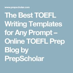 Official TOEFL iBT Tests with Audio by ETS | TOEFL with Jenna ...
