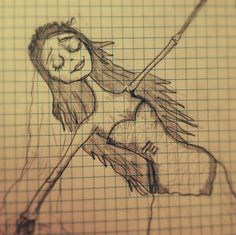 corpse bride my drawing