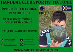 🟢 YOU WERE BORN TO BE A PLAYER . 🇹🇩Proud Romanian Handball Team 🏆 Follow us also on Instagram  🤾♂️ @ Înscriere Handbal Copii 6-12 ani❗️ 🏆 @ Handbal Club Sportiv Tectonic  ☎️ 0727699888 ❤️ @ Suflet de campion  #handball #photography #sport #wallpaper #sportoutfits #sports #girlsgeneration #photooftheday #photo #photoshoot #kids #kidssports #sportkids #follow #follow4follow #followme #handballboys #handballfoto #handballpictures #handballgirls #handbllife Champion, Kids Sports, Girls Generation, Sport Outfits, About Me Blog, Wellness, Photoshoot, Club, Instagram