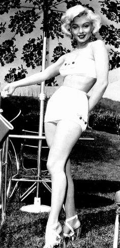 The beautiful, great Marilyn Monroe.