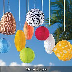 outdoor solar hanging lanterns