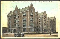 Bay Ridge High School, 350 67th Street, Bay Ridge Brooklyn, NY 11220 circa 1920