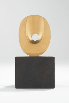 Barbara Hepworth 1903 - 1975 UPRIGHT SOLITARY FORM (AMULET) Numbered 1 10 Bronze Height: 3 3/8 in. Conceived in 1961 | Sotheby's