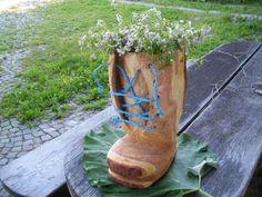 Blumen-Schuh