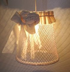 I have the basket and I will be making this for the light above my kitchen sink....now what color should it be????