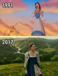 I am just not okay with how absolutely fit Emma Watson was for this role. She was literally born for it, no joke. And I can really think of a lot of other people who could disagree with me. Walt Disney, Disney Nerd, Disney Love, Disney Magic, Disney Beauty And The Beast, Disney And More, Disney And Dreamworks, Disney Pixar, Pixar Movies