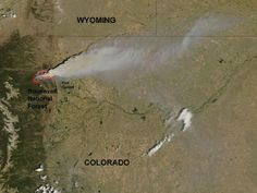Big wildfires : the new norm in the US