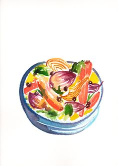 Tagine of fennel, red onions and baby carrots with couscous | Flickr - Photo Sharing!
