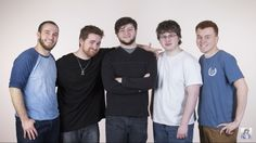 ThatGuyBarney Mithzan SkyDoesMinecraft House_Owner and RedVacktor. I love these guys! They are my HEROS!