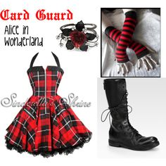 Alice in Wonderland- Card Guard by elegant-magician on Polyvore