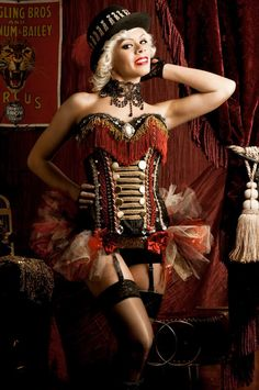 Ring Master...one piece...very cute, looks so Burlesque