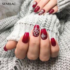 Próbáld ki te is a Semilac professzionális termékeit már Magyarországon is ! www.semilac.hu Egy gyönyörű igazi karácsonyi köröm! Perfect Nails, Winter Nails, Christmas Nails, Girly Things, Nail Colors, Nail Designs, Nail Art, Pretty, Nail Ideas