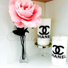 Bougies de Fashion Chanel LV Hermès Prada YSL Dior par CandleLandd