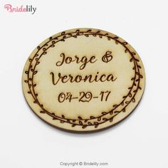 Personalized Engraved Wedding Wooden Round Bottle Opening Coasters Custom Coffee Coasters For Party Decor Favors Coffee Coasters, Burning Incense, Incense Cones, Custom Coasters, Incense Holder, Personalized Wedding Gifts, Response Cards, Glazed Ceramic, Wedding Engagement