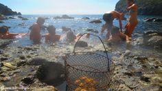 Sorgeto Hot Springs - Itaian island of Ischia