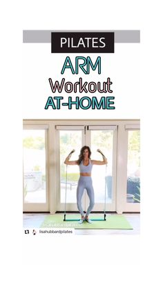 Pilates Routines, Pilates Workout Videos, Pilates Barre, Barre Workout, Pilates Studio, Arm Workouts At Home, Band Workouts, Pilates For Beginners, Pilates Instructor