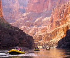 rafting, grand canyon