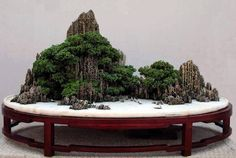 Landscape Bonsai (Chinese Penjing), found at Kuanghua Hsiao