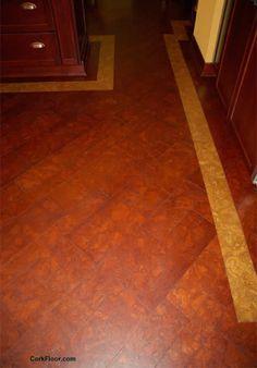 Globus Cork / Cork Floor .com - Natural Cork Flooring Photos - Colored Cork