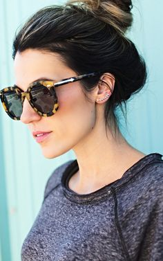 38db242335da Dem glasses and Ear Crawlers. Ily CoutureKaren Walker ...