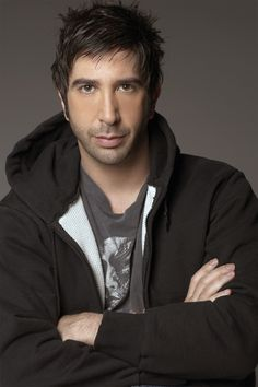 """David Schwimmer. Still can't figure out if he's """"delicious"""", per se, but I'd…"""