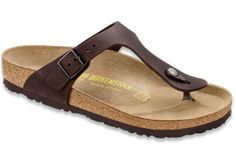 Birkenstock  Habana Oiled Leather  Gizeh