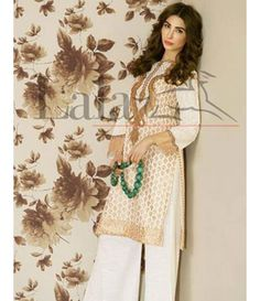 Lala Brocade Embroidered Kurtis Collection 2016 BRK_10