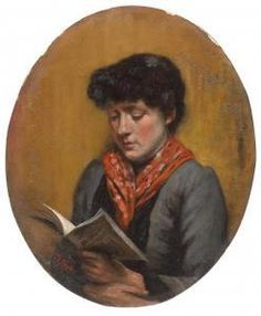 Eugenio Prati (1842-1907) - Ritratto Di Fanciulla