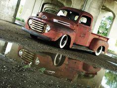 48 Ford F1 Downtown Trenton, MI.