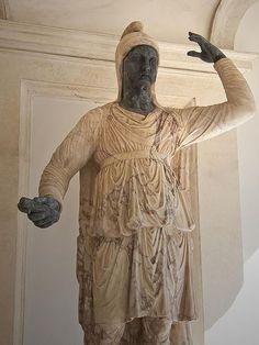 Colossal statue of a Dacian Roman century CE Ancient Art, Ancient History, Romanian People, Romans 2, Ancient Civilizations, Roman Empire, Tattoo Inspiration, Mythology, Culture