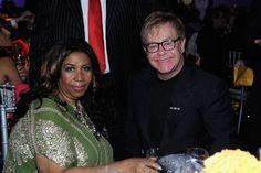 Aretha Franklin with Elton John #ArethaSings